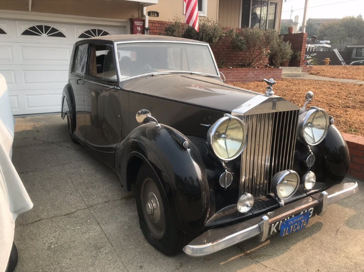 Carlos Santana\'s Rolls Royce Bentley
