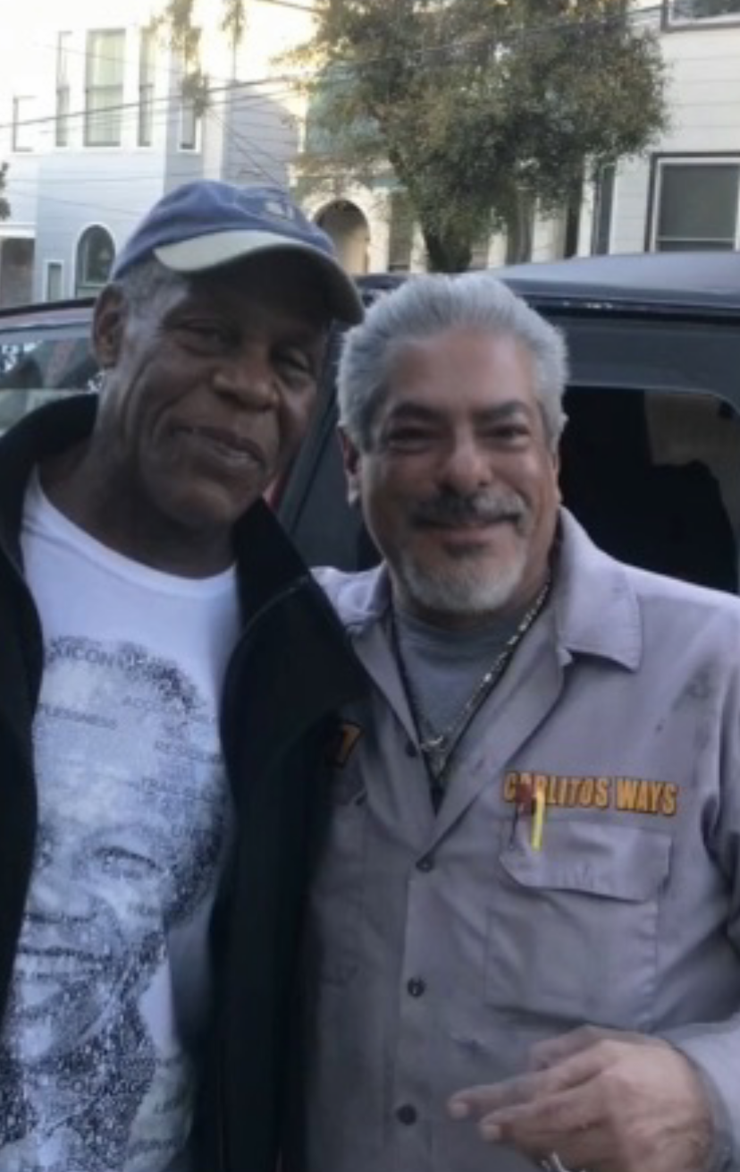 Towing Danny Glover\'s Ride